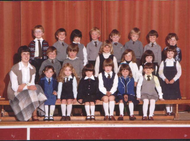 Papdale Primary P1, 1978 or 1979