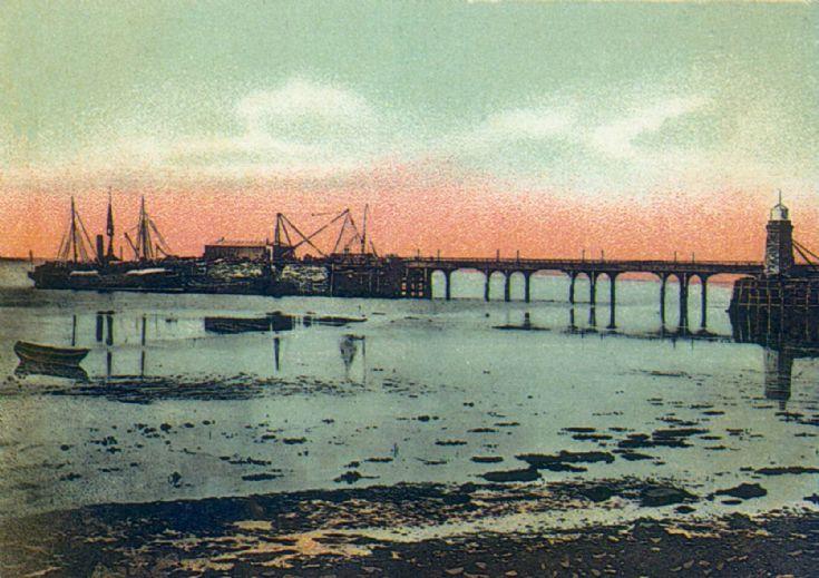 Kirkwall pier 'cast iron'