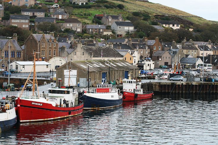 Stromness fishing boats