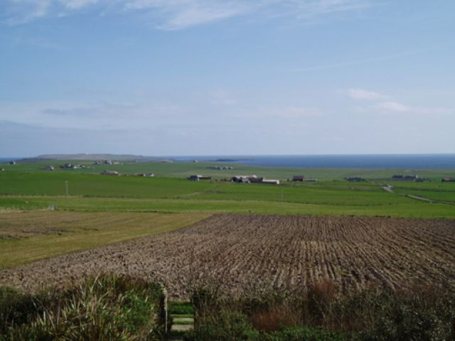 Apr 2005, looking towards Copinsay from Deerness