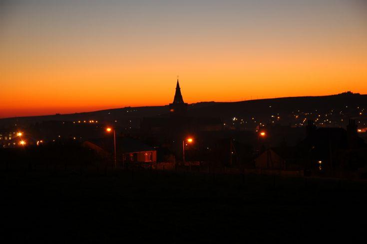 Sunset 18 Dec 2007