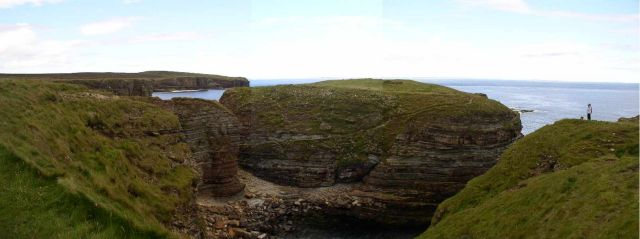 Brough of Deerness panorama
