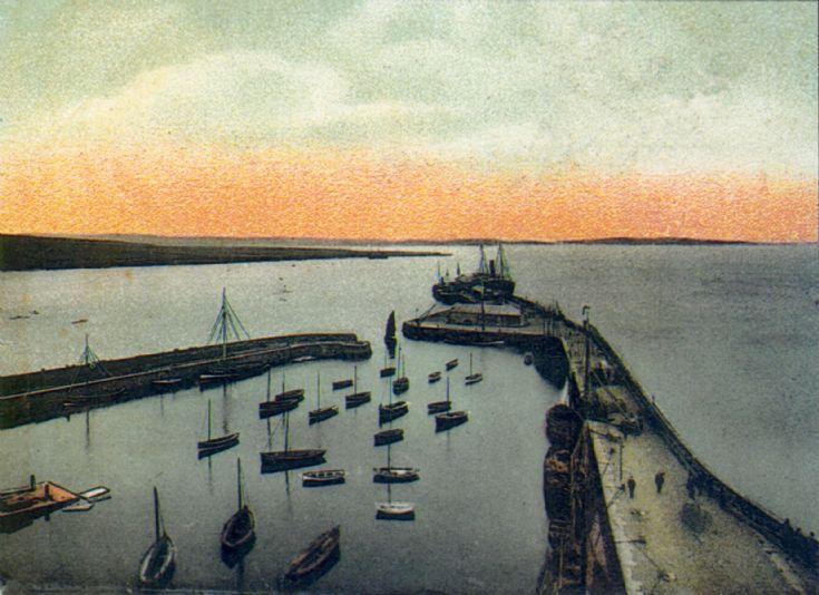 Kirwall pier 1906 p.c.