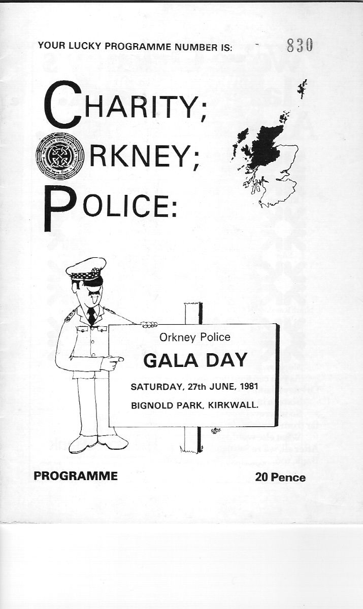 Police Charity Event