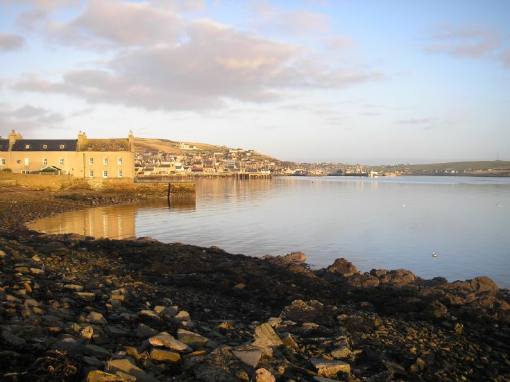 Stromness from the South End
