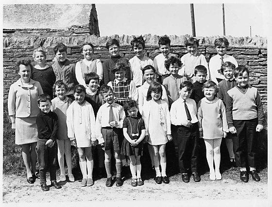 Costa School photo from 1968-1969