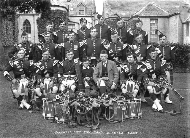 Kirkwall City Pipe band 23-6-22