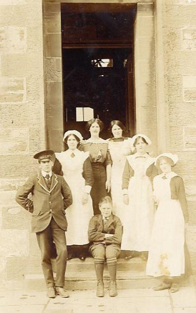 Staff of Castle Hotel, Kirkwall