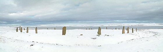 Ring of Brodgar - Snow