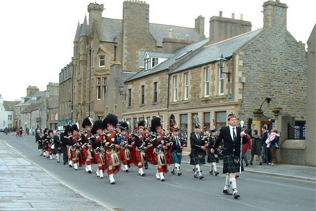 Kirkwall and Stromness Pipe Bands