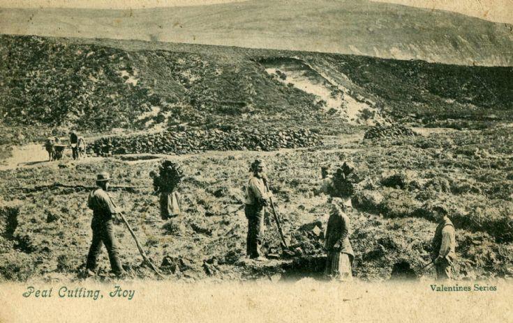 Peat Cutting Hoy