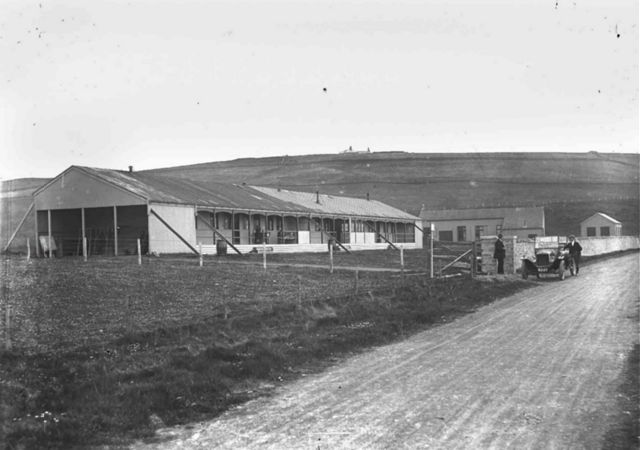 TB Pavilion at Scapa