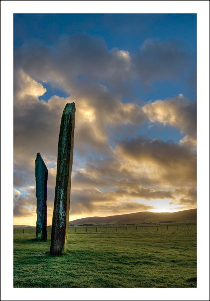 Sunrise At The Standing Stones