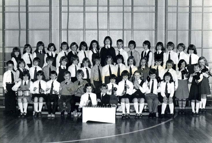 Papdale School choir