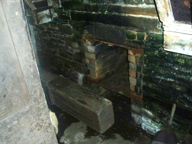 Kiln Hearth in Tankerness Mill