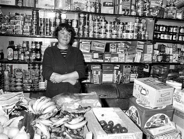 The shop at Hullion, Rousay