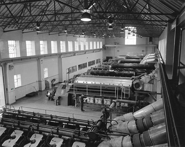Inside Kirkwall Power Station