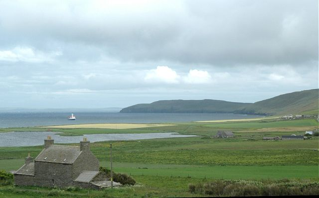 June 2005, Looking East from NW Rousay