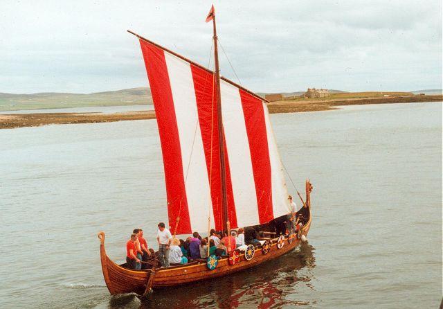 A longship