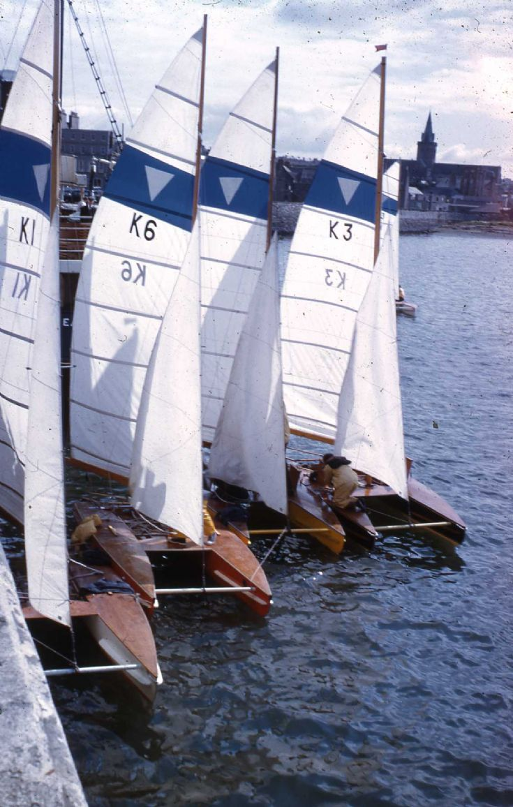 YW Catamarans at Kirkwall Pier