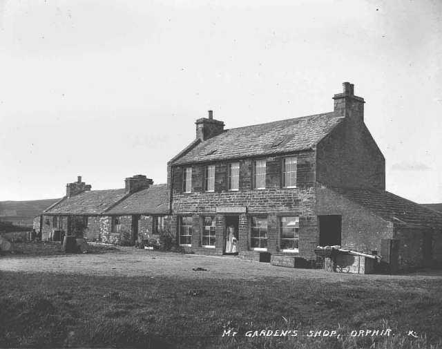 Mr W Garden's shop, Orphir