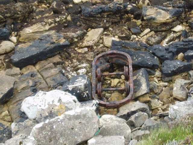Bogie from Scad Head railway