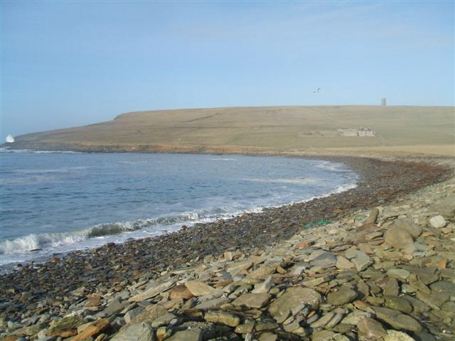 View from Marwick shore