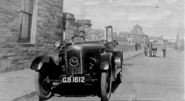 Looking down Junction Road c. 1925
