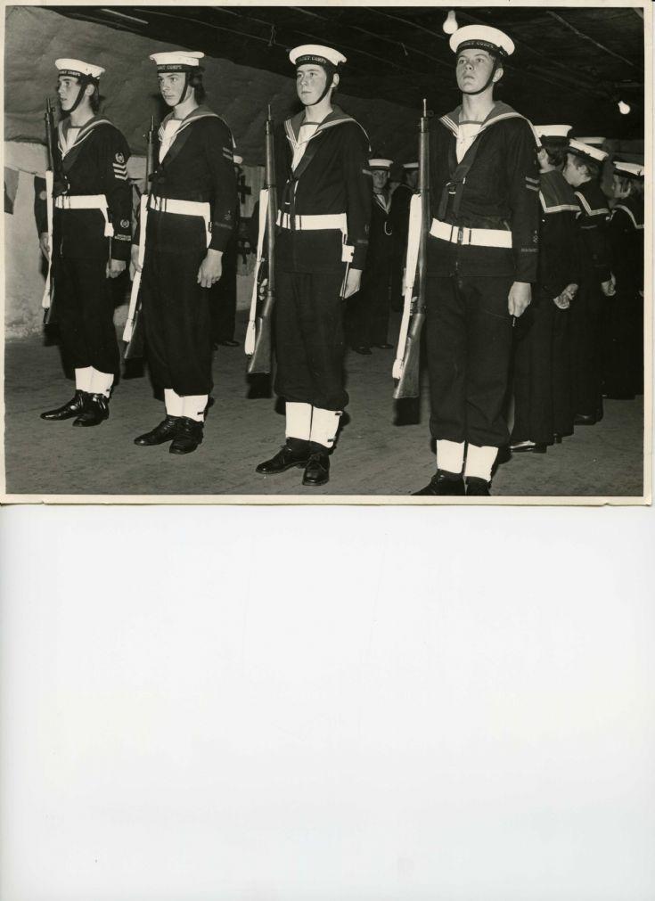 Sea Cadet Guard Drill