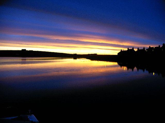 Westray sunset