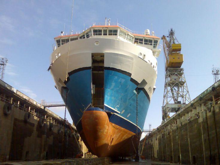 Hrossey in Drydock 2007