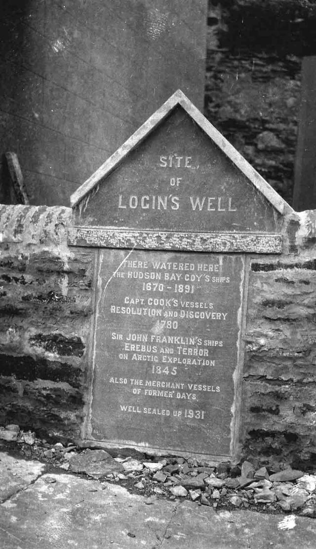 Site of Login's Well, Stromness.
