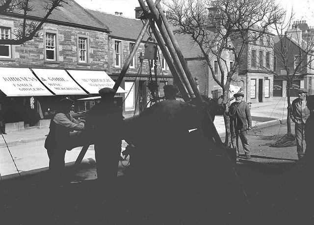 Removal of guns from Broad Street