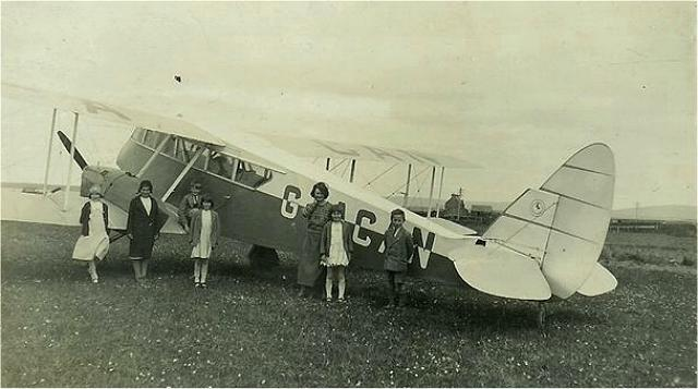 Plane in Stenness