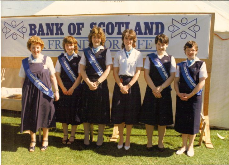 Bank of Scotland staff at the County Show