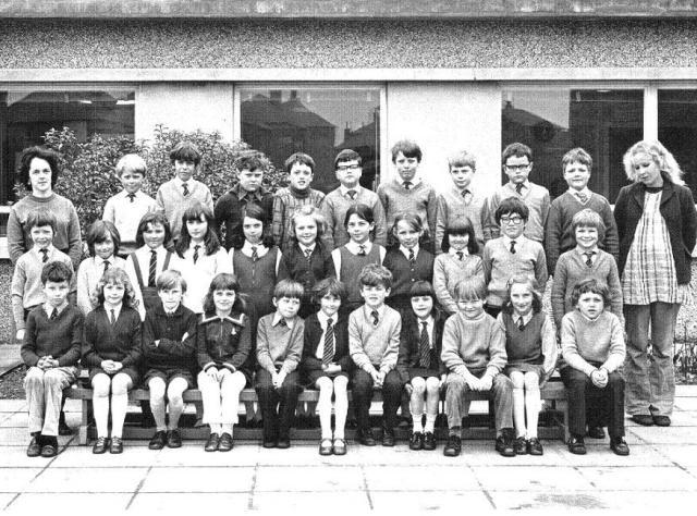 Kirkwall Primary School, Class 4 Sweyn, 1973