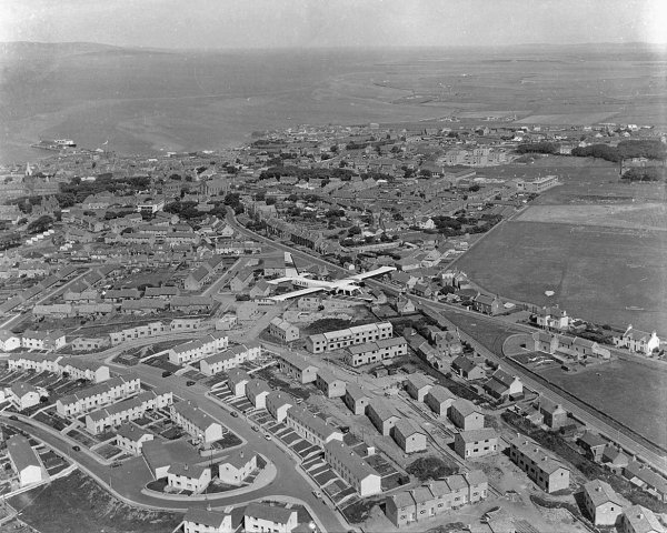 Aerial view of Warrenfield