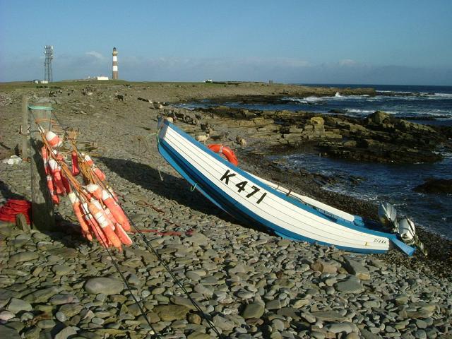 Pram dinghy, North Ronaldsay