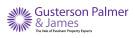 Gusterson Palmer & James - Evesham Logo