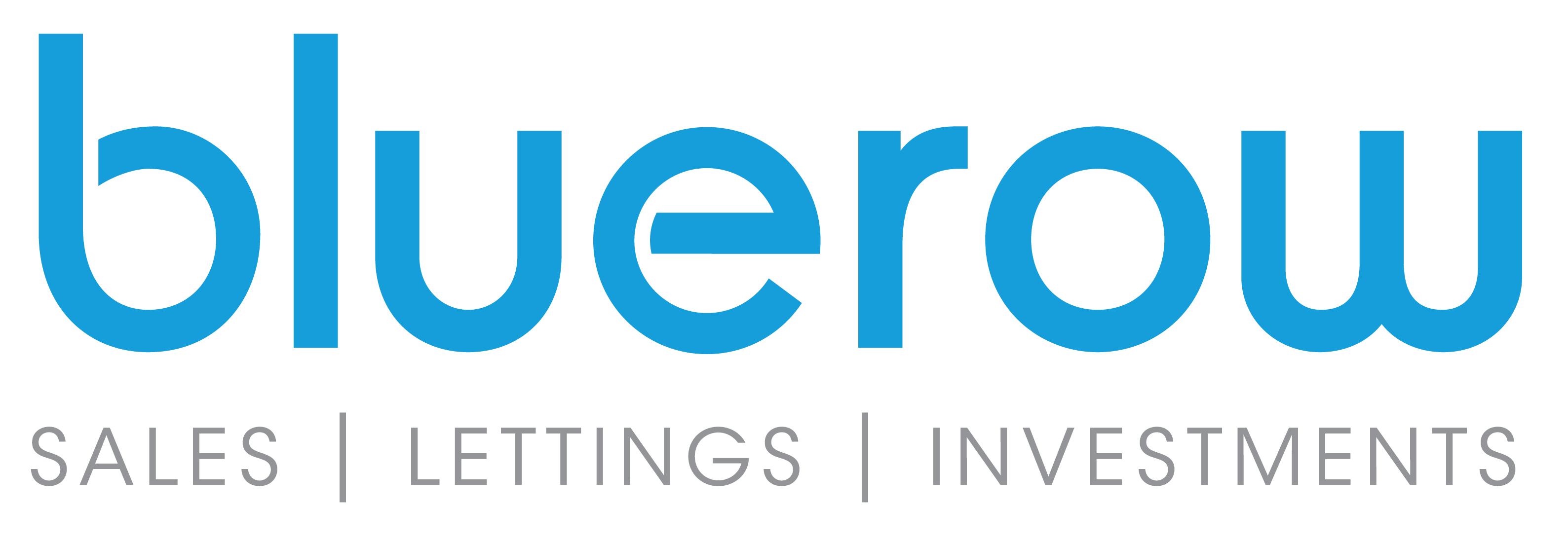 Bluerow Homes Lettings Logo