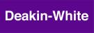 Deakin-White Logo