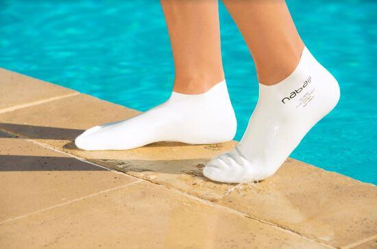 Test de chaussette de natation, test à distance