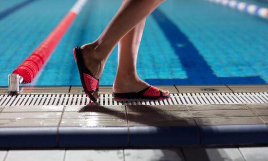 Test de tong natation - St Jean de luz