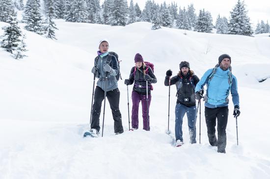 Test chaussures de randonnée neige //HOMME// Vallée de l'Arve [NOUVEAU]