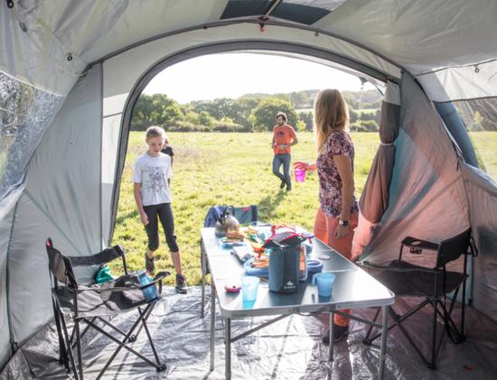 Vous et le ménage en camping