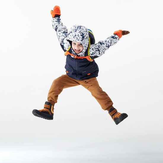 Choix des coloris des futures moufles enfant