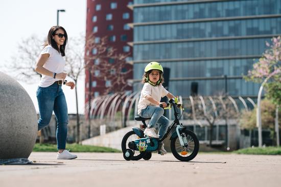 Interview à Lille sur un nouveau concept de 1er vélo enfant