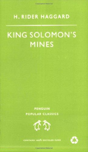 R. Haggard, King Solomon's Mines