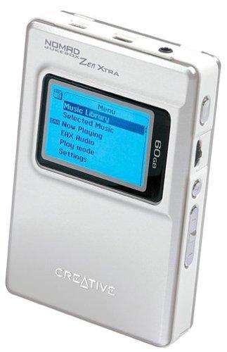 Creative Labs Creative Zen Xtra 60 GB