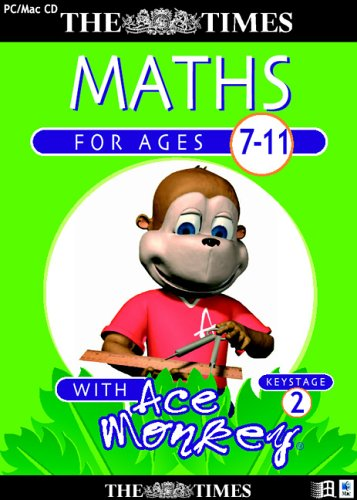 The Times Ace Monkey Key Stage 2 Maths (Ages 7-11)